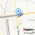 Алибаба на карте Южно-Сахалинска