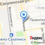 АвтоМама на карте Южно-Сахалинска