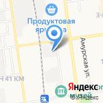 Синегорье-сервис на карте Южно-Сахалинска