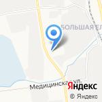 Кафетерий на карте Южно-Сахалинска