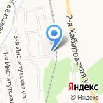 Aвтор на карте Южно-Сахалинска