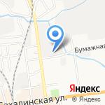 ExMail на карте Южно-Сахалинска