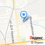 Служба заказа эвакуации и спецтехники на карте Южно-Сахалинска