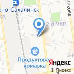Платежный терминал на карте Южно-Сахалинска