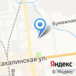 Лицей №2 на карте Южно-Сахалинска