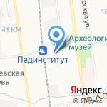 Союзтепломонтаж на карте Южно-Сахалинска