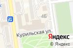 Схема проезда до компании Галерея вкуса в Южно-Сахалинске