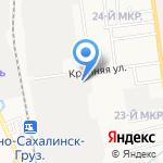 ОренГруп на карте Южно-Сахалинска