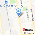 Сервисный центр компьютерной техники на карте Южно-Сахалинска