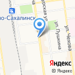 Интеллект центр на карте Южно-Сахалинска