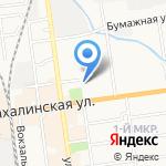 Управление ГИБДД на карте Южно-Сахалинска