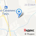 Прохоренко А.В. на карте Южно-Сахалинска