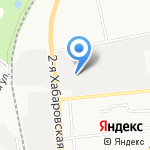 СахМеханника на карте Южно-Сахалинска
