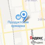 За рулем на карте Южно-Сахалинска