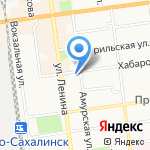 Управление МВД России по г. Южно-Сахалинску на карте Южно-Сахалинска