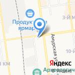 Gift`n`roses на карте Южно-Сахалинска
