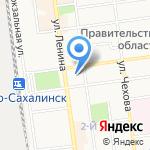 Департамент финансов Администрации г. Южно-Сахалинска на карте Южно-Сахалинска