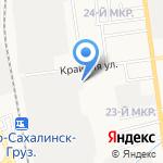 АвтоКрай на карте Южно-Сахалинска
