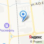 АвтоСтар на карте Южно-Сахалинска