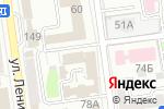 Схема проезда до компании Рыбокомбинат Островной в Южно-Сахалинске