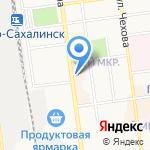 ЛОМБАРД КАЛИТА на карте Южно-Сахалинска