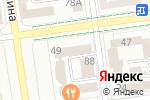 Схема проезда до компании Золотая миля в Южно-Сахалинске