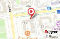 Схема проезда до компании Твоя Газета в Южно-Сахалинске