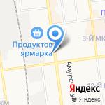 Магазин спортивного питания на карте Южно-Сахалинска