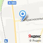 Елена на карте Южно-Сахалинска