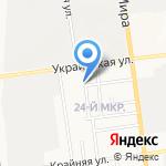 Polyaris Auto на карте Южно-Сахалинска
