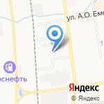 Системы защиты на карте Южно-Сахалинска