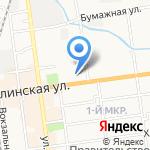 Управление ФСБ России по Сахалинской области на карте Южно-Сахалинска