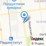 Межотраслевой региональный центр повышения квалификации и переподготовки специалистов на карте Южно-Сахалинска