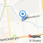 Авто-старт на карте Южно-Сахалинска