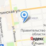 Нотариус Третьякова Г.В. на карте Южно-Сахалинска