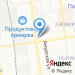 Время на карте Южно-Сахалинска