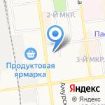 ВСК на карте Южно-Сахалинска