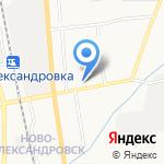 Кристина на карте Южно-Сахалинска