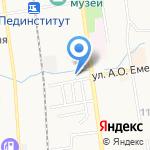 Ен Дон на карте Южно-Сахалинска