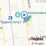 Дальмедсервис-ВК на карте Южно-Сахалинска