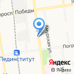 Юридическо-бухгалтерское агентство на карте Южно-Сахалинска
