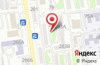 Схема проезда до компании Полиграф-Сервис в Южно-Сахалинске
