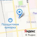 БЭС-ХИТ на карте Южно-Сахалинска