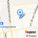 Средняя общеобразовательная школа №32 на карте Южно-Сахалинска