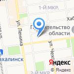Медицинская Сервисная Компания на карте Южно-Сахалинска