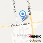 В Десяточку на карте Южно-Сахалинска