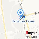 Компания на карте Южно-Сахалинска