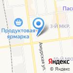 Библиорадуга на карте Южно-Сахалинска