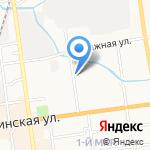 ЖЭУ №6 на карте Южно-Сахалинска