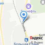 Прокат65 на карте Южно-Сахалинска